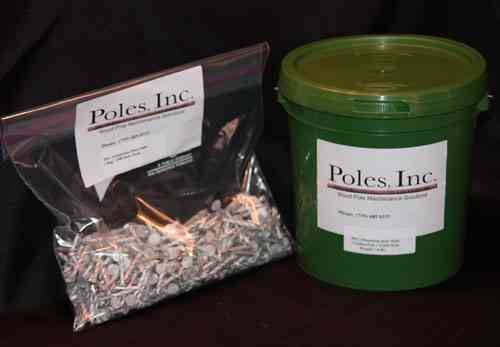 Nails NO DATE Aluminum (1 Gallon Pail/2,700 Nails)