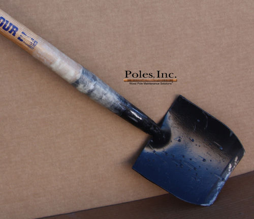 Digging Shovel. Hardwood Handle with Fiberglass Reinforcement, Clay Spade Size