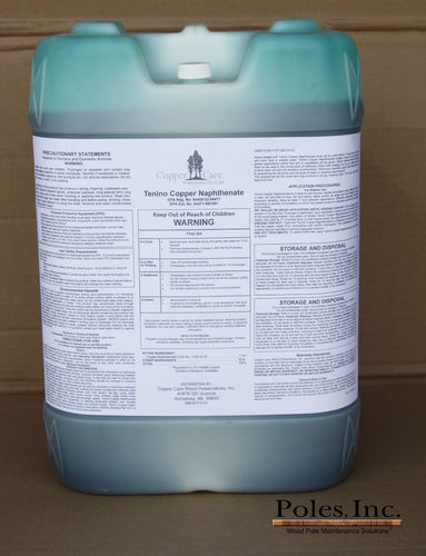 Tenino Copper Naphthenate 2% (17% by Volume) (5 Gallon Jug)
