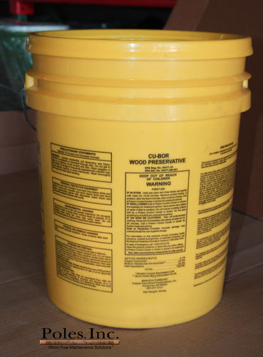 Cu-Bor Preservative  Paste (50 lb.) Packaged in a 5 Gallon Pail