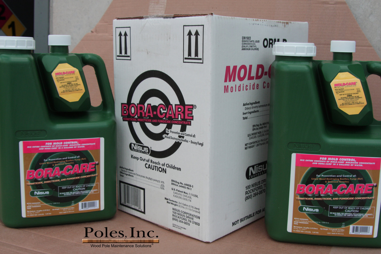 Bora Care With Mold Care 1 Gallon Jug From Poles Inc
