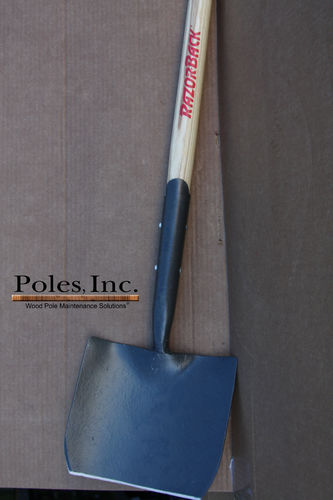 Digging Shovel Razorback Non-Reinforced (Hardwood Handle)