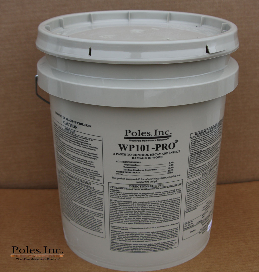 WP101-PRO® Preservative Paste (42lb. Pail) Packaged in a 5 Gallon Pail